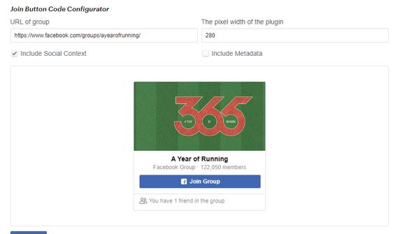 facebook group plugin