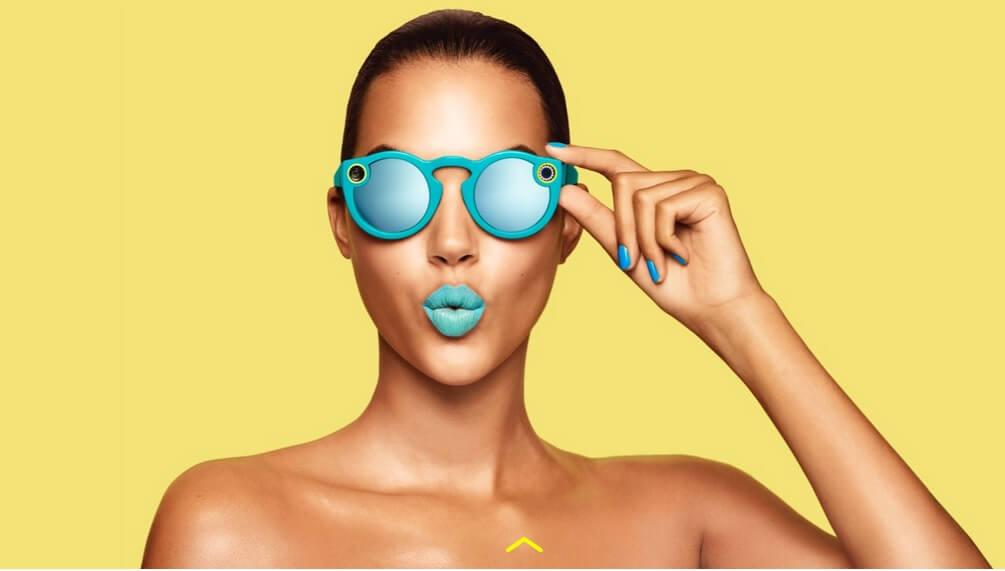 המשקפיים של סנאפצ'ט, spectacles