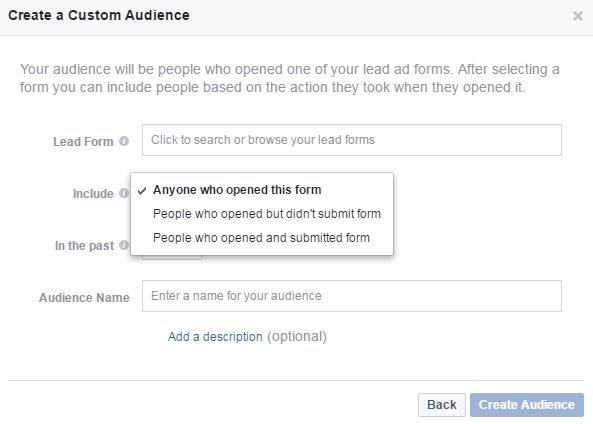 שיווק מחדש בפייסבוק על ידי מודעות לידים