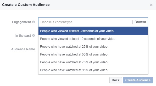 facebook video remarketing