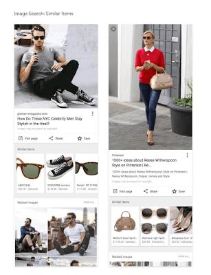 similar items בחיפוש תמונות בגוגל