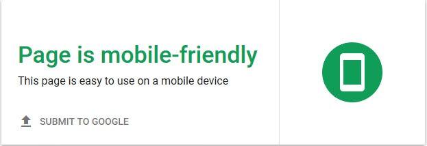 עונש גוגל - אתר ידידותי למובייל