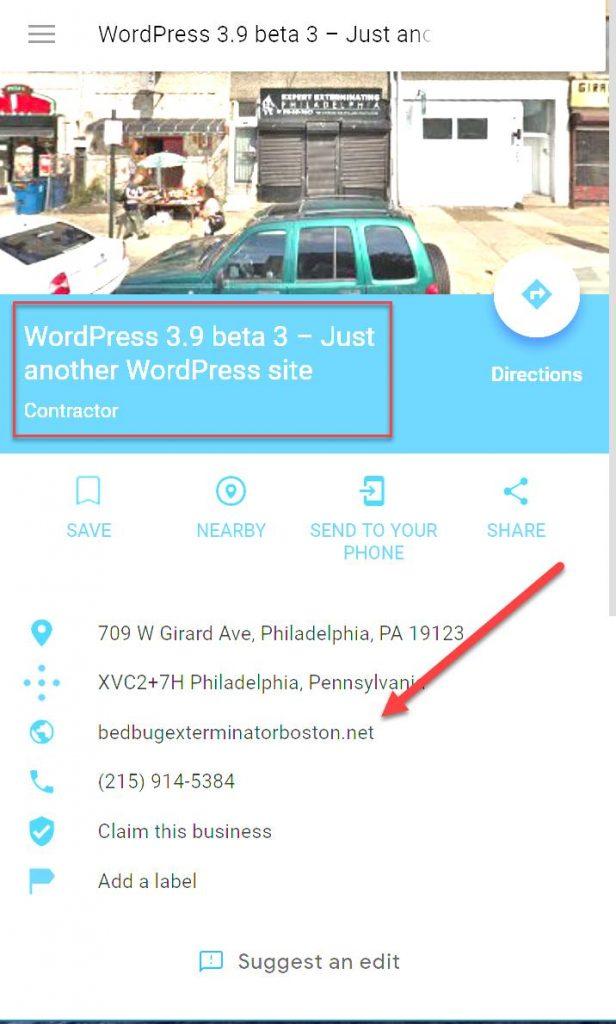 עסקים מזויפים ב-Google My Business